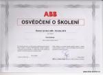 Osvědčení ABB Novinky 2013