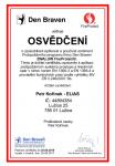 Certifikat Den Braven 2017