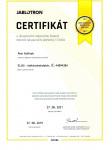 Certifikat-Jablotron