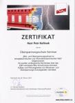 Certifikát DEHN