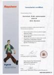 Certifikát Raychem
