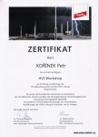 Certifikát DEHN-HVI workshop