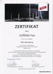 Certifikát DEHN-HVI workshop